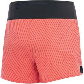 GORE WEAR R5 Shorts Women print coral glow/terra grey